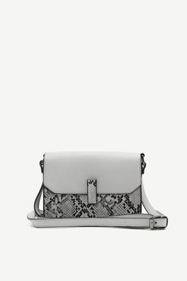 Ardene Snakeskin Crossbody Bag