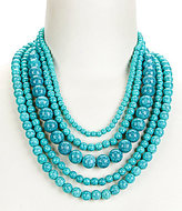 Anna & Ava Amy Beaded Multi-Strand Necklace