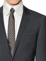 Karl Lagerfeld Techno Wool Twill Suit