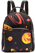 Miu Miu Planet-print canvas backpack