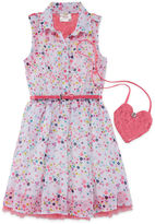 Knitworks Knit Works Sleeveless Shirt Dress - Preschool Girls