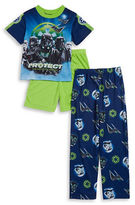 AME Sleepwear Little Boys Rogue One Pajama Tee, Shorts and Pants Set