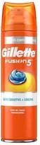 Gillette Fusion Ultra Sense Cool Shaving Gel 200ml