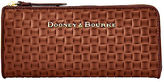 Dooney & Bourke Claremont Woven Zip Clutch