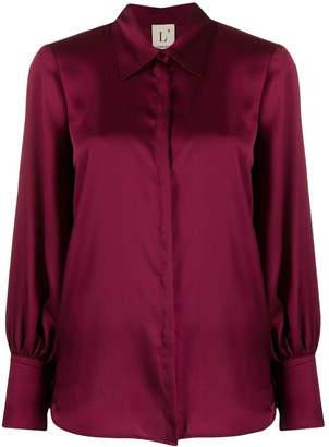L'Autre Chose bishop sleeve shirt