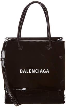 Balenciaga Xxs Patent Shopping Tote