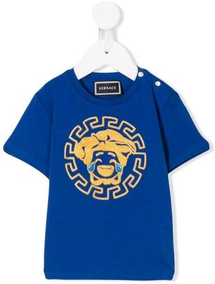 Versace Medusa emoji T-shirt