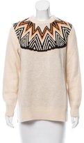 Mara Hoffman Long Sleeve Crew Neck Sweater