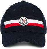 Moncler logo plaque baseball cap - men - Cotton/Polyester - One Size