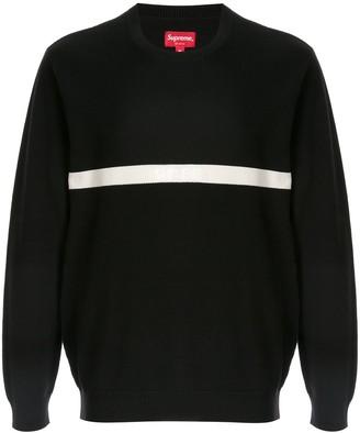 Supreme Split Pique Sweater