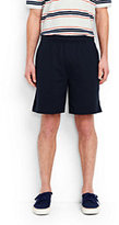 Lands' End Men's Jersey Knit Shorts-White