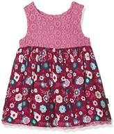 Pumpkin Patch Baby Girls 0-24m Lace Bodice Dress,0-3 Months
