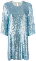 Amen sequin embellished dress - women - Viscose/PVC - 40