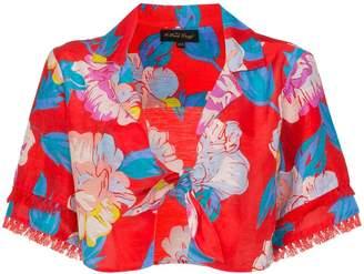 A Peace Treaty Talla Floral Print Tie Shirt