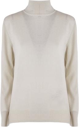 Alberta Ferretti Cream Virgin Wool Sweater