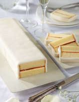 Marks and Spencer Wedding Cutting Bar Cake - Sponge with Ivory Icing