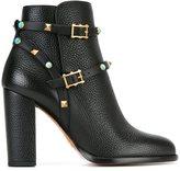 Valentino Garavani 'Rockstud Rolling' ankle boots