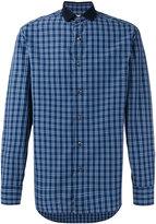 Brioni checked shirt - men - Cotton - S