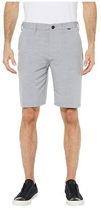 Hurley Dri-Fit Cutback 21 Walkshorts (Light Armory Blue) Men's Shorts