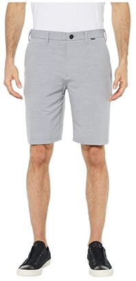 Hurley Dri-Fit Cutback 21 Walkshorts (Wolf Grey) Men's Shorts