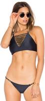 Lenny Niemeyer Rings Bikini Top