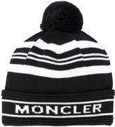 Moncler pom pom beanie - men - Virgin Wool - One Size