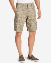 """Eddie Bauer Men's Versatrex 11"""" Cargo Shorts - Print"""