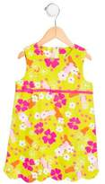 Lilly Pulitzer Girls' Floral Print Sleeveless Dress