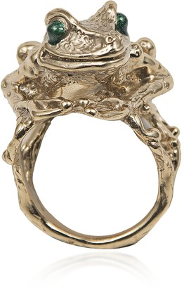 Bernard Delettrez Big Froggy Bronze Ring