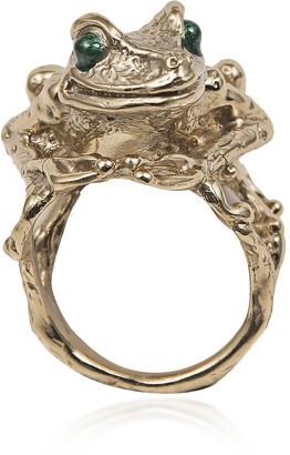 Bernard Delettrez Big Froggy Bronze Ring