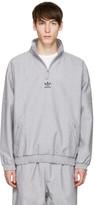 adidas Grey Zip Wind Jacket
