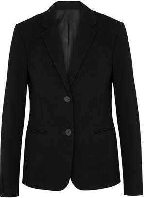 Helmut Lang Black Stretch-cotton Blazer