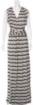 ALICE by Temperley Abstract Print Maxi Dress w/ Tags