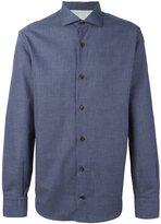 Eleventy micro check shirt
