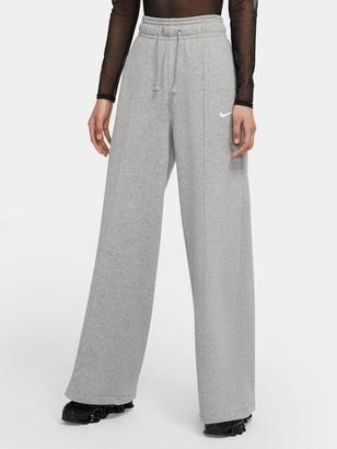 Nike NSW Fleece Pants - Dark Grey Heather
