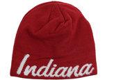 adidas Women's Indiana Hoosiers Script Knit Hat