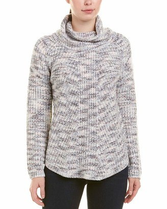 Jones New York Women's L/s Raglan Rib Tneck