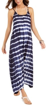 Raviya Tie-Dyed Maxi Dress Cover-Up, Created for Macy's Women's Swimsuit