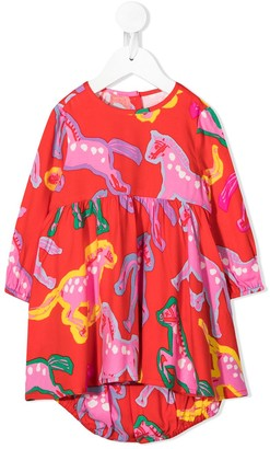 Stella Mccartney Kids Horse print dress
