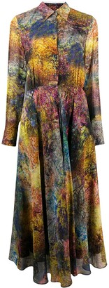 Sara Roka Signe flared shirt dress