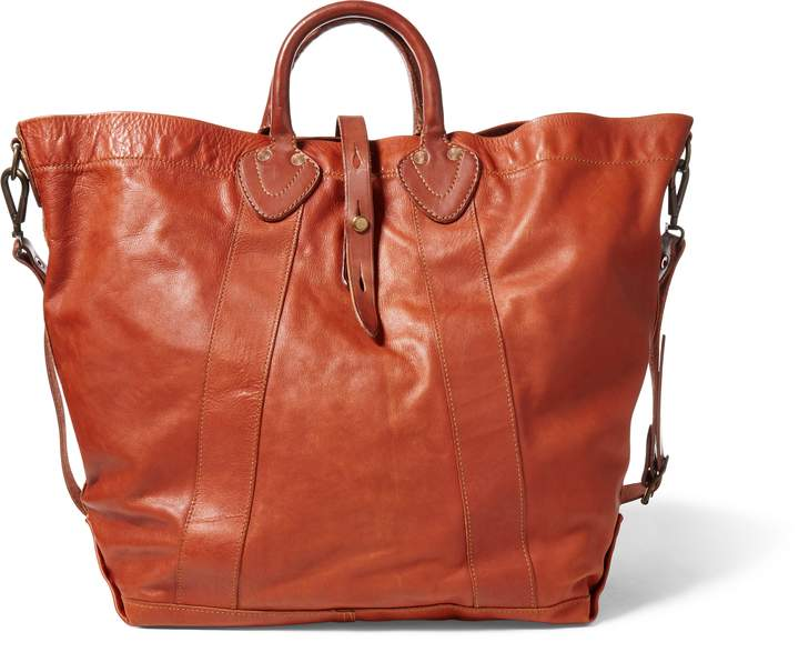 Ralph Lauren Tumbled Leather Tote