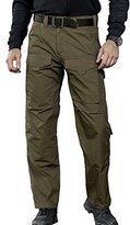 FREE SOLDIER Men's Tactical Pant Wear-resistant Stylish Duty Pants Breathable Multi-pocket Hiking Climbing Trousers (,M)