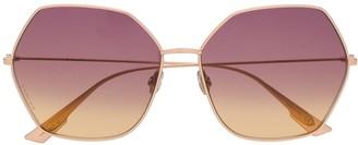 Christian Dior DiorStellaire8 angular-frame sunglasses