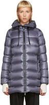 Moncler Grey Down Suyen Coat