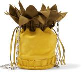 Tomasini - Ananas Suede Shoulder Bag - Yellow