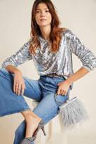 Eri + Ali Babette Sequined Pullover