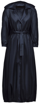 Ulyana Sergeenko Demi Couture Hooded Trench Coat