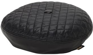 Borsalino Leather & Quilted Nylon Basco Hat