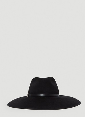 Gucci Horsebit Detailed Wide Brim Hat