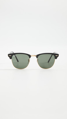 Ray-Ban RB3016 Classic Clubmaster Rimless Sunglasses
